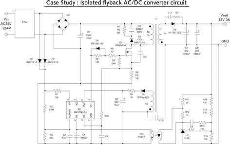 Flyback Power Supply Diagram Wiring Center