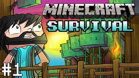 minecraft survival part  diamonds   noodles  friend youtube