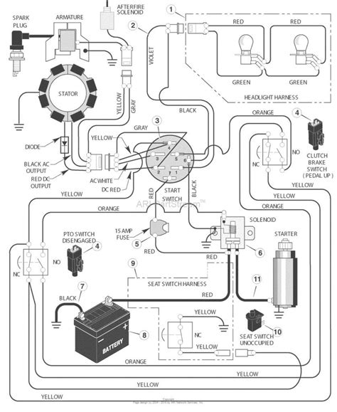 snapper ignition switch wiring diagram toro 20 hp wiring