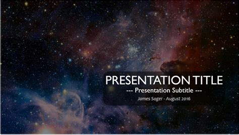 templates space powerpoint free space nebula powerpoint 11564 sagefox free