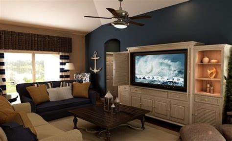 blue accents nautical and blue accent walls on