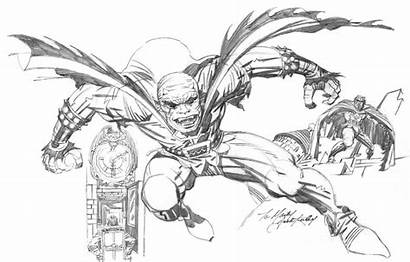 Etrigan Demon Kirby Jack Pencil Sketch Dynamics