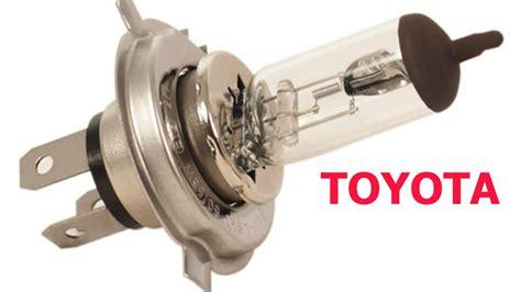 headlight bulbs replace install easy change on toyota