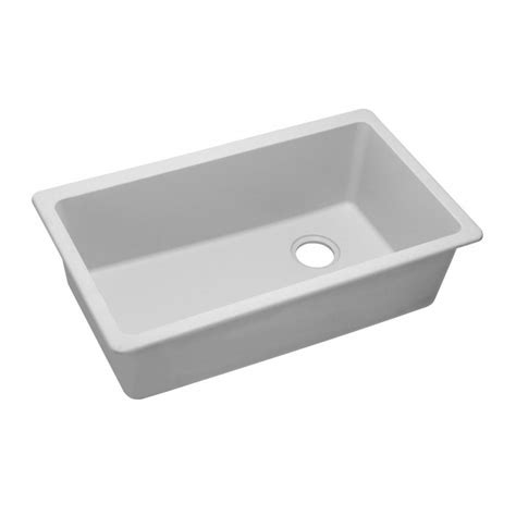 elkay undermount egranite sinks elkay elgu13322 gourmet e granite single bowl undermount sink