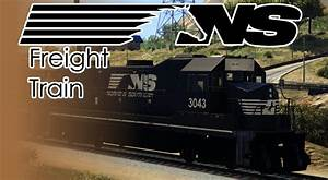 Norfolk Southern Freight Train - GTA5-Mods.com