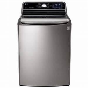Shop LG 5 7-cu ft High-Efficiency Top-Load Washer