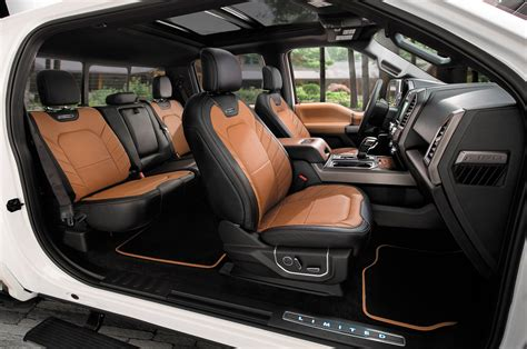 ford f150 interior 2016 roush ford f 150 sc review