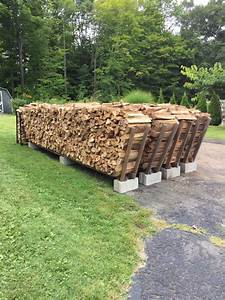 21, Creative, Diy, Firewood, Rack, Designs, Ideas, For, Outdoor, Space