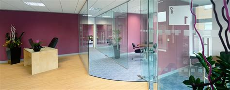 industrial bathroom design glass partitioning frameless glass office partitioning