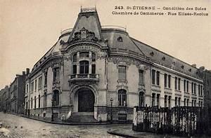 st etienne rue elisee reclus cartoliste With chambre de commerce de saint etienne