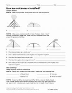 How Are Volcanoes Classified? Natural Disasters Printable ...