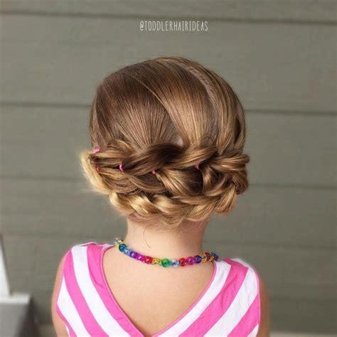 ideas de peinado  ninas de todas las edades
