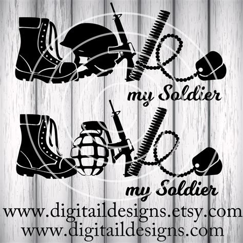 Click on open to import a svg file in the editor. Love Army SVG png dxf eps ai fcm Cut File   Etsy