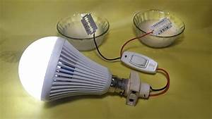 How To Make Free Energy Salt Water With Light Bulb Very