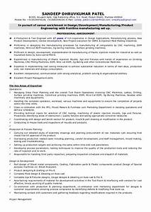 resume sandeep patel 04092015 With plastic injection molding sample resume