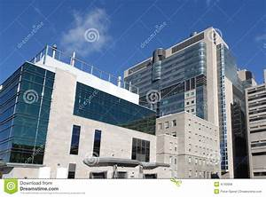 Modern Hospital Building Stock Photo  Image Of Building