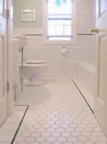 bathrooms with subway tile ideas hexagon tiles