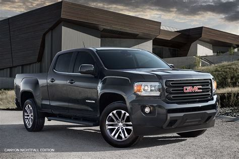 Chevrolet Mid Size Truck by The 2016 Gmc Nightfall Edition Mid Size