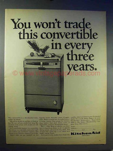 kitchenaid dishwasher ad  convertible
