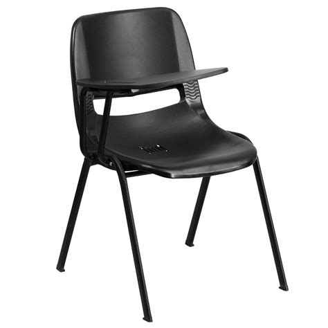 flash furniture rut eo1 bk rtab gg black ergonomic shell