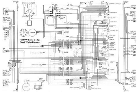 dodge d100 wiring diagram wiring diagram