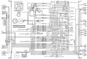 Wiring Diagrams 1972 Dodge Truck