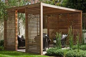 23 modern gazebo and pergola design ideas you39ll love for Whirlpool garten mit balkon pergola