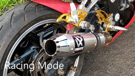 tridente exhaust sound test by 3tech racing