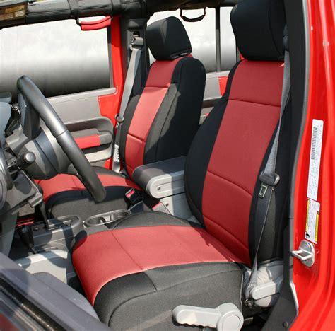 jeep interior seats rugged ridge custom neoprene seat covers