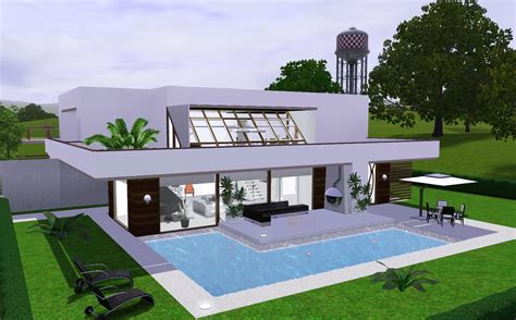 Modern Cozy  House The Sims 3  Via Sims