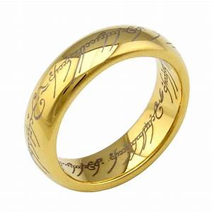 6mm tungsten lord of the ring men tungsten ring wedding With mens lord of the rings wedding bands