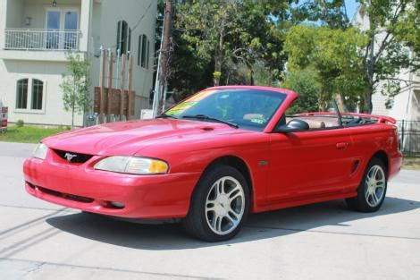 ford mustang gt convertible   sale  houston tx