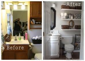 diy ideas for bathroom inspiring before and after bathroom makeover diy cozy home