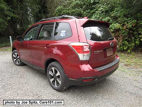subaru forester red 2017 2017 subaru forester exterior photo page 1