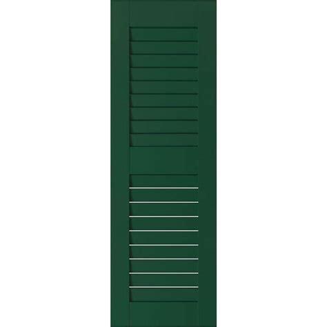 ekena millwork 15 in x 27 in exterior wood sapele