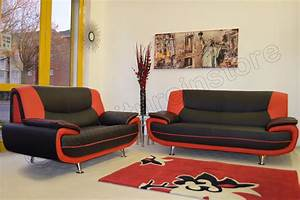 black and red sofas red black bonded leather sofa set With red and black leather sectional sofa