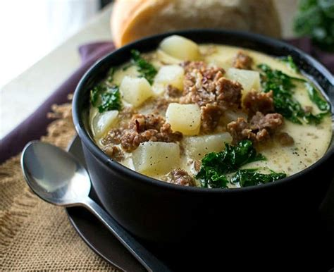 olive garden zuppa toscana cooker zuppa toscana the chunky chef