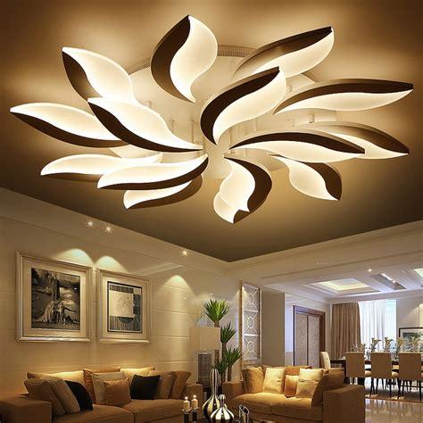 decorative light fixtures acrylic led ceiling lights modern simplicity home