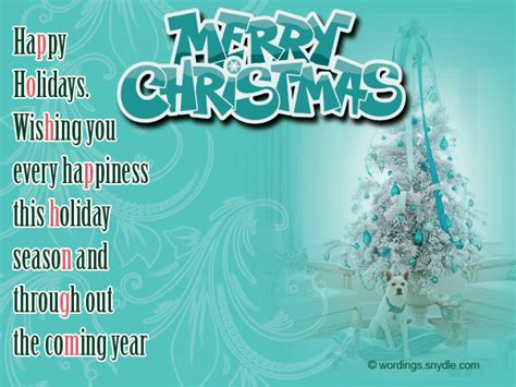 christmas messages for business wordings and messages