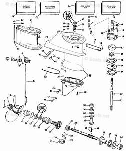 Evinrude Outboard Parts By Hp 28hp Oem Parts Diagram For