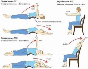 Утреннее упражнение от остеохондроза