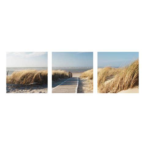 wandbilder 3 teilig glasbild mehrteilig ostsee strand 3 teilig waldbild glas