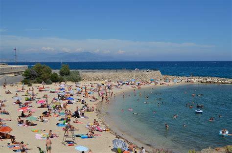 port de la gravette les plages 224 antibes du fort carr 233 de la vieille ville et du cap d antibes