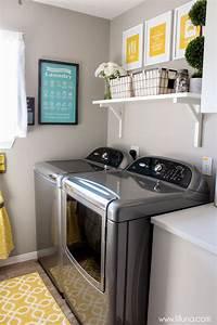 laundry room makeovers Laundry Room Makeover