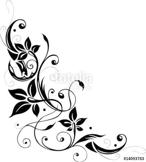 Muster Blumenranke Einfach by Quot Blumenranke Bl 252 Ten Filigran Quot Stockfotos Und Lizenzfreie