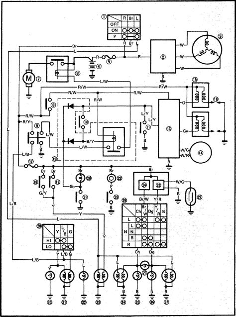 Yamaha Xv 250 Virago Wiring Diagram by Wiring Diagrams