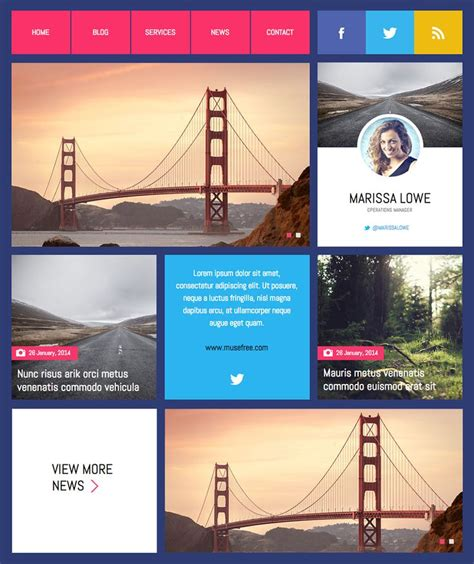 90 Best Images About Adobe Muse Templates On 33 Best Images About Adobe Muse Free Themes On