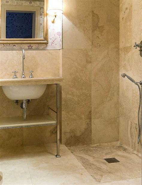 salle de bain travertin la beaute de la pierre de tivoli