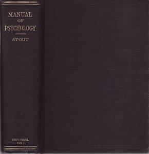 Manual Of Psychology