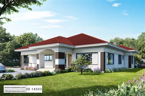 4 Room House Plan ID 14503 House in 2020 Four